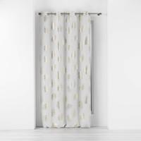 Home Curtains & blinds Douceur d intérieur SUNNY GOLD White