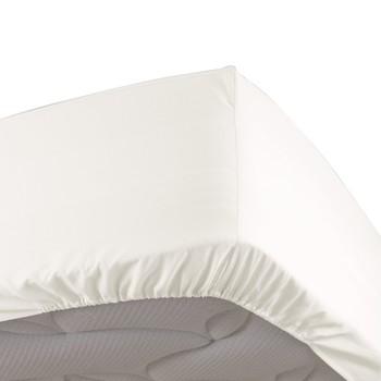 Home Fitted sheet Douceur d intérieur PERCALINE Lin