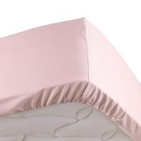 Home Fitted sheet Douceur d intérieur PERCALINE Pink
