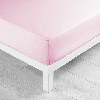 Home Fitted sheet Douceur d intérieur LINA Pink / Clear