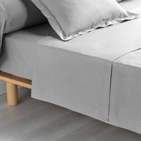 Home Sheet Douceur d intérieur PERCALINE Grey