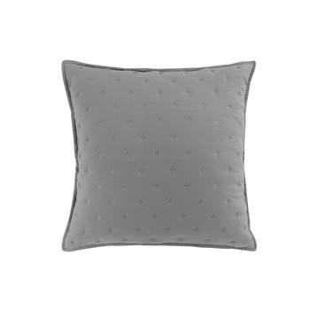 Home Cushions covers Douceur d intérieur MELLOW CHIC Grey / White