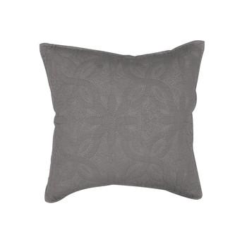 Home Cushions covers Douceur d intérieur FLORETTE Anthracite