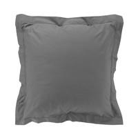 Home Pillowcase, bolster Douceur d intérieur PERCALINE Anthracite