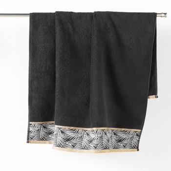 Home Towel and flannel Douceur d intérieur ORBELLA Black