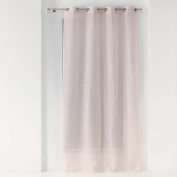 Home Sheer curtains Douceur d intérieur ZAZY Pink