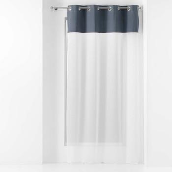 Home Sheer curtains Douceur d intérieur JOLIBEL Blue