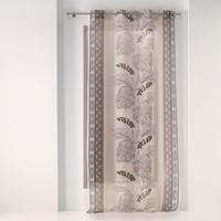 Home Sheer curtains Douceur d intérieur KALAHARI Sable