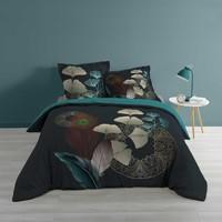Home Bed linen Douceur d intérieur GINKOBLUE Blue / Dark