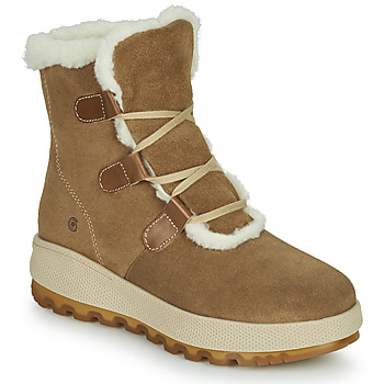 Shoes Women Snow boots Casual Attitude NAREIGNE Beige