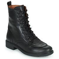 Shoes Women Mid boots Casual Attitude PASTILLA Black
