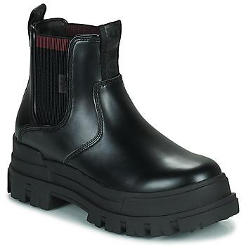 Shoes Women Mid boots Buffalo ASPHA CHELSEA Black