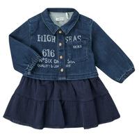 material Girl Short Dresses Ikks CHATAIN Marine