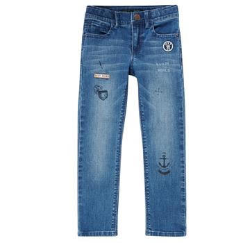 material Boy slim jeans Ikks VANILLE Blue