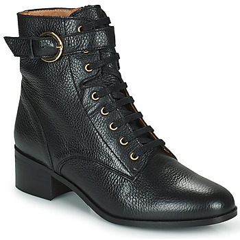 Shoes Women Ankle boots Minelli CAMILA Black