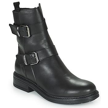 Shoes Women Mid boots Minelli PAULINA Black