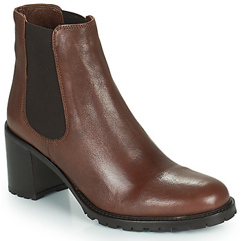 Shoes Women Ankle boots Minelli PETRINA Brown