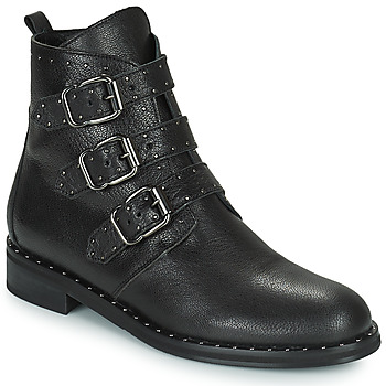 Shoes Women Mid boots Minelli FRANILLA Black