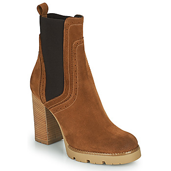 Shoes Women Ankle boots Minelli VANILLA Brown