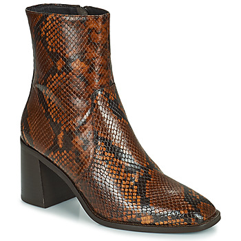 Shoes Women Ankle boots Minelli MARIELLA Brown
