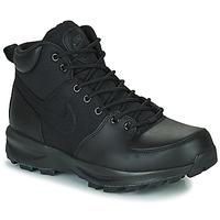 Shoes Men High top trainers Nike NIKE MANOA Black