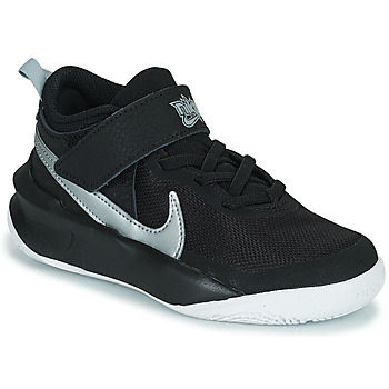 Shoes Children High top trainers Nike TEAM HUSTLE D 10 (PS) Black / Silver