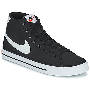 Shoes Men High top trainers Nike NIKE COURT LEGACY CNVS MID Black / White