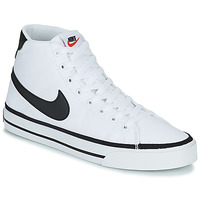 Shoes Men High top trainers Nike NIKE COURT LEGACY CNVS MID White / Black