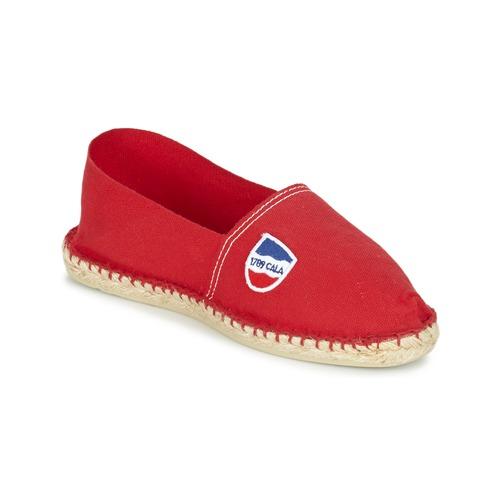 Shoes Men Espadrilles 1789 Cala UNIE ROUGE Red