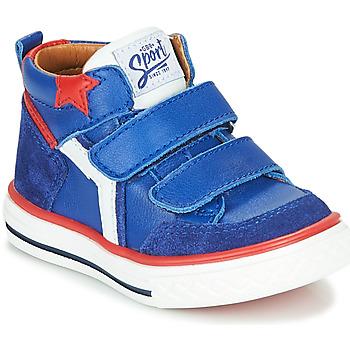 Shoes Boy High top trainers GBB FLAVIO Blue