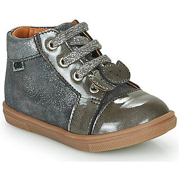 Shoes Girl High top trainers GBB CHOUBY Grey