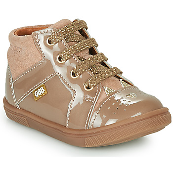 Shoes Girl High top trainers GBB THEANA Beige