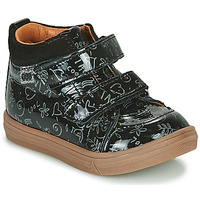 Shoes Girl High top trainers GBB DOMENA Black