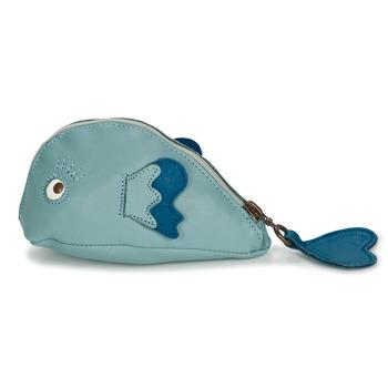Bags Children Wallets Easy Peasy ZIPPY POISSON Blue
