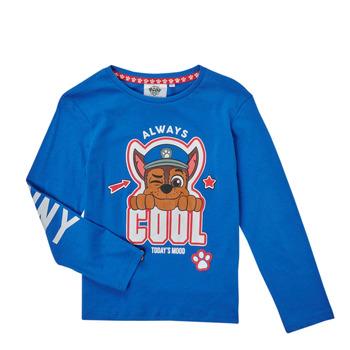 material Boy Long sleeved shirts TEAM HEROES  TEE PAW PATROL Blue