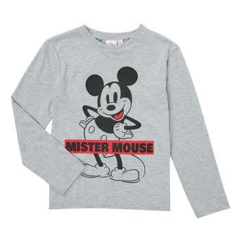 material Boy Long sleeved shirts TEAM HEROES  TEE MICKEY Grey