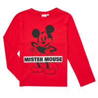 material Boy Long sleeved shirts TEAM HEROES  TEE MICKEY Red