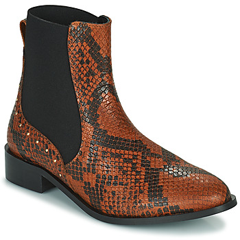 Shoes Women Mid boots JB Martin ANGE Brown