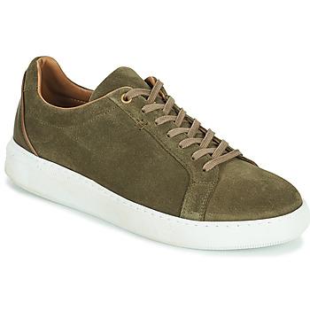 Shoes Men Low top trainers Pellet OSCAR Kaki