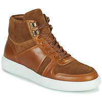 Shoes Men High top trainers Pellet ODIN Brown