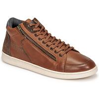 Shoes Men High top trainers Redskins DYNAMIC Cognac