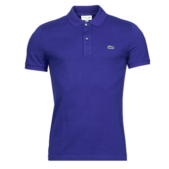 material Men short-sleeved polo shirts Lacoste POLO SLIM FIT PH4012 Blue / Roi