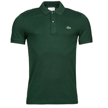 material Men short-sleeved polo shirts Lacoste POLO SLIM FIT PH4012 Green