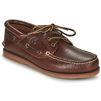 Shoes Boat shoes Timberland Classic Boat 3 Eye Padded Collar Brown