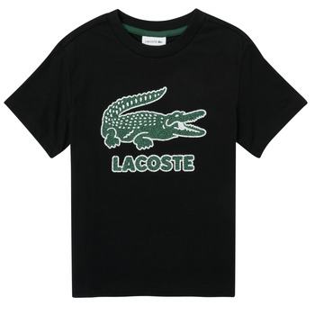 material Boy short-sleeved t-shirts Lacoste APOLLINE Black