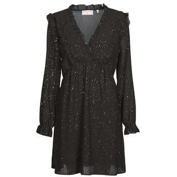 material Women Short Dresses Moony Mood PABBARETZE Black