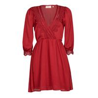 material Women Short Dresses Moony Mood PABIDOSE Red