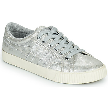 Shoes Women Low top trainers Gola GOLA TENNIS MARK COX SHIMMER Silver