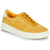 Shoes Women Low top trainers Gola GOLA SUPER COURT SUEDE Mustard