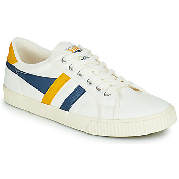 Shoes Men Low top trainers Gola GOLA TENNIS MARK COX White / Blue / Yellow